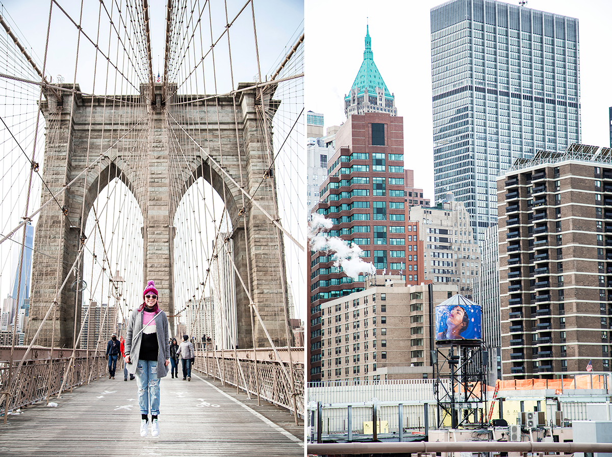 New York City february 2015 photo journal Brooklyn Bridge view