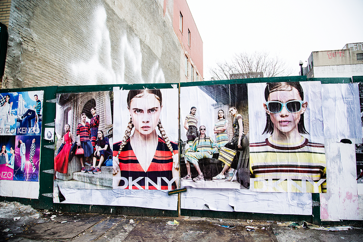 New York City february 2015 photo journal Fashion ads