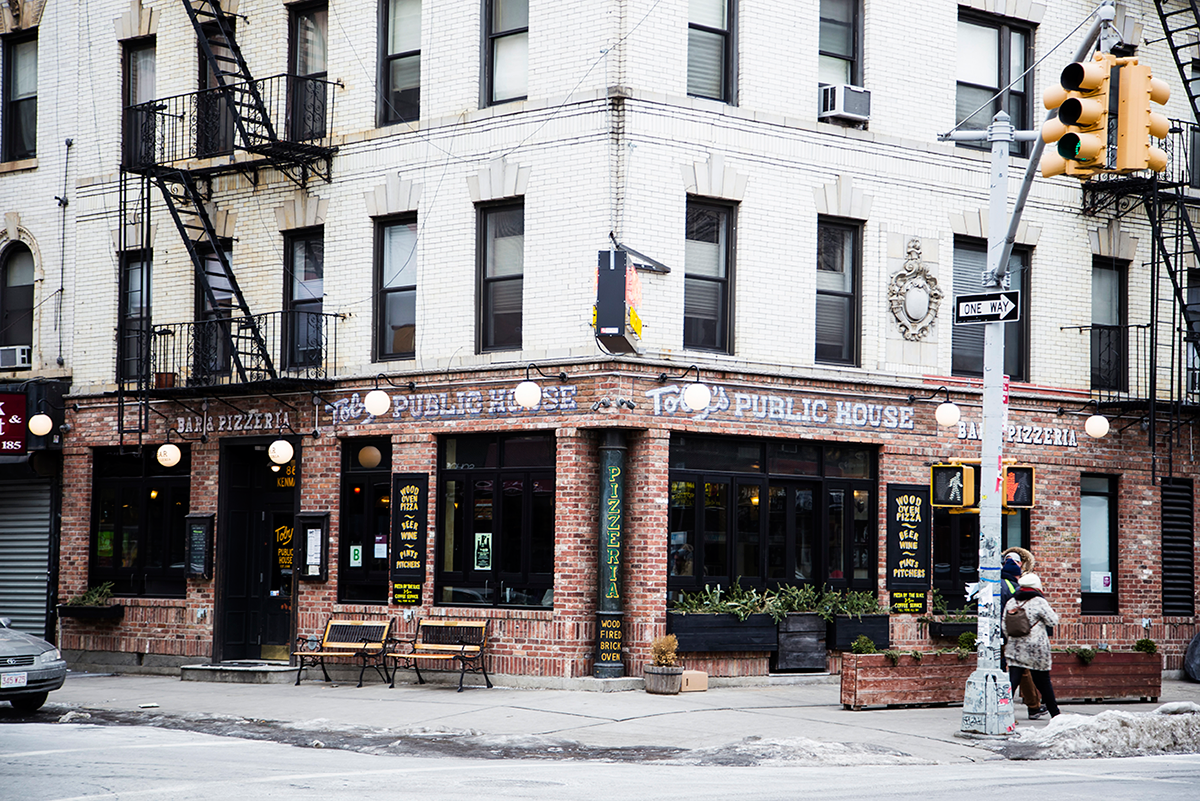 New York City february 2015 photo journal Soho restaurant