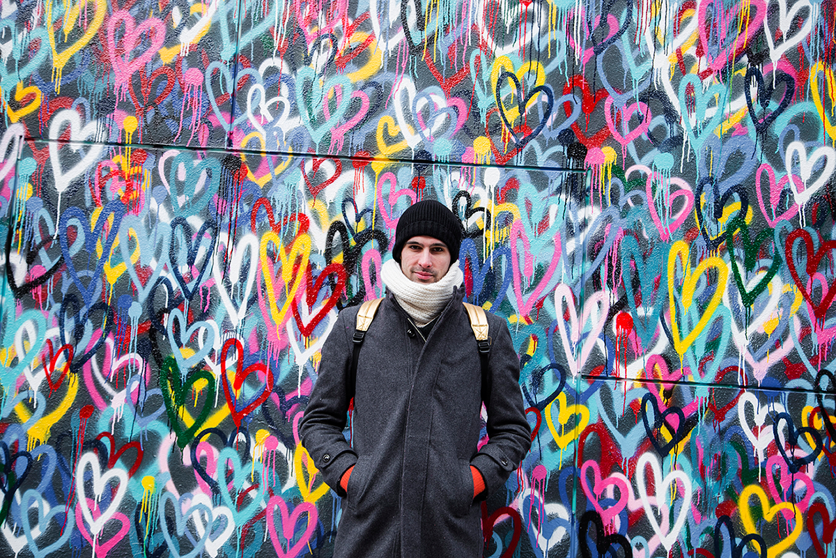 New York City february 2015 photo journal graffiti hearts