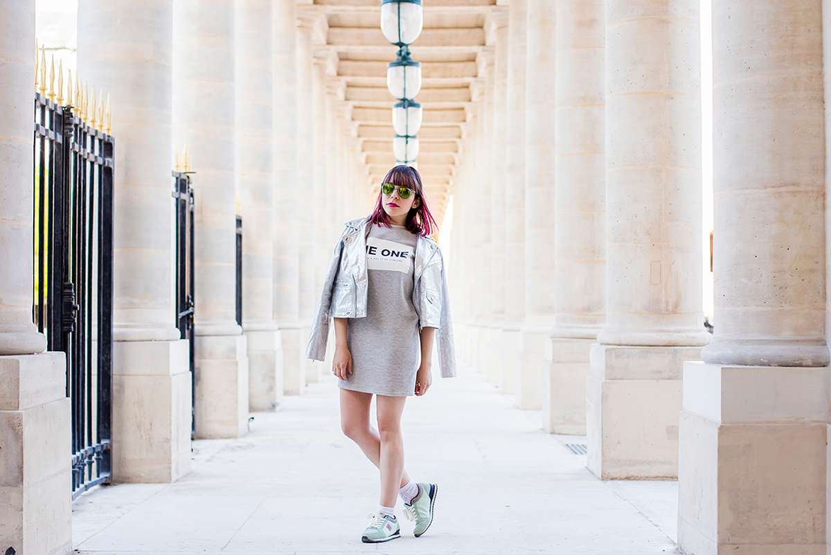 Sporty Chic look with Meyba Barcelona by Ambitieuse Paris