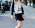 Black and white look MFW AW15 Street Style Costume National by Ambitious Looks