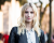 Blond model MFW AW15 Street Style Costume National by Ambitious Looks