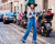 Denim overalls MFW AW15 Street Style Dolce & Gabbana by Ambitious Looks