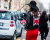 Red mouth clutch MFW AW15 Street Style Fendi Fashion Show