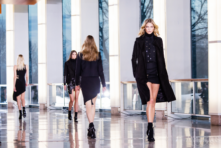 Karlie Anthony Vaccarello AW15 Runway PFW by Ambitious Looks