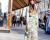 Floral sheer dress Balmain AW15 PFW Street Style by Ambitious Looks