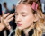 Nastya Sten make up Cedric Charlier AW15 Backstage photos by Ambitious Looks Paris Fashion Week