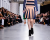 pleated skirt Cedric Charlier AW15 Runway photos by Ambitious Looks Paris Fashion Week