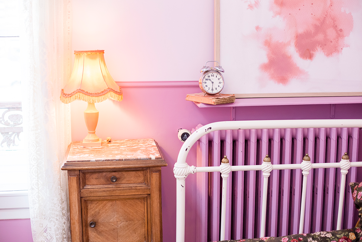 Pink bedroom Paris Guide Cute coffee shop in Paris Le Pavillon des Canaux by Ambitieuse