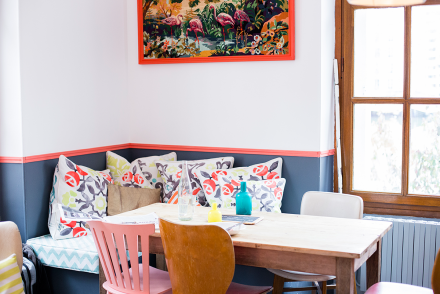 Pretty design Paris Guide Cute coffee shop in Paris Le Pavillon des Canaux by Ambitieuse