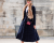 Red heels Elie Saab AW15 PFW Street Style for Ambitious Looks by Ylenia Cuellar