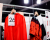 Red shirt Kenzo AW15 Backstage by Ylenia Cuellar Ambitious Looks
