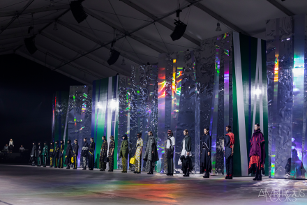 Grand Finale at Kenzo AW15 Runway by Ylenia Cuellar Ambitious Looks