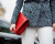 Red clutch Chanel AW15 Street Style by Ambitious Looks