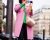 Pink coat Miu Miu Street Style in PFW AW15 by Ambitious Looks