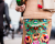 Colorful embroidered skirt Miu Miu Street Style in PFW AW15 by Ambitious Looks