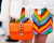 rainbow print at Valentino AW15 Street Style by Ambitious Looks PFW