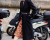 Caroline Issa at Valentino AW15 Street Style by Ambitious Looks PFW