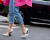 White heels at Stella McCartney AW15 Street Style PFW by Ambitious Looks