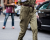 Military jumpsuit at Stella McCartney AW15 Street Style PFW by Ambitious Looks