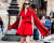 Chiara Ferragni red cape at Stella McCartney AW15 Street Style PFW by Ambitious Looks