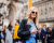 Lily Donaldson at Stella McCartney AW15 Street Style PFW by Ambitious Looks