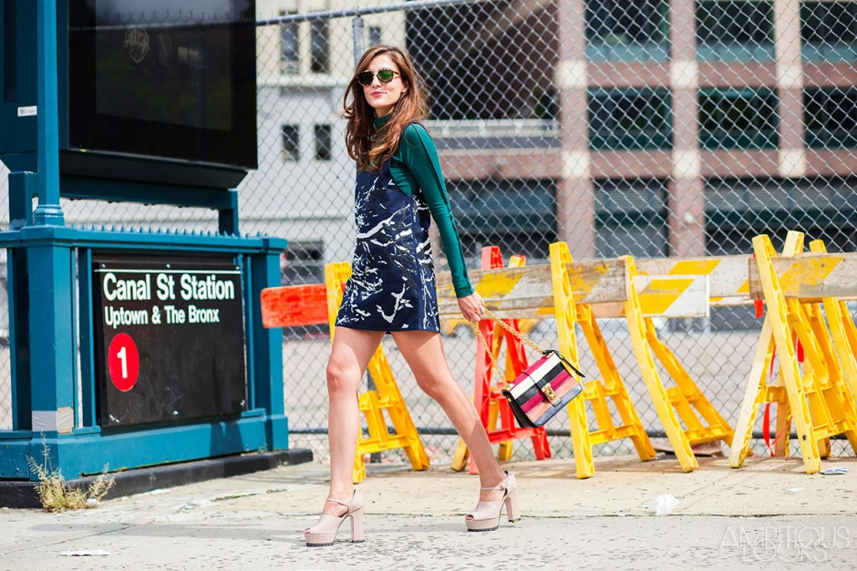 Eleonora Carisi at NYFW SS16 Lacoste Street Style by Ambitious Looks