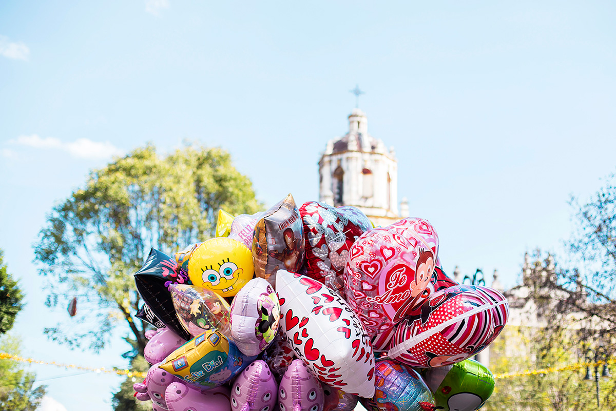Discovering the colorful district of Coyoacan in Mexico City