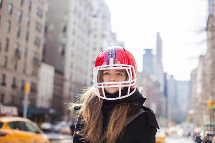 Adrienne Juliger NYFW Tommy Hilfiger AW15 Street Style Ambitious Looks