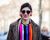 Colorful top Menswear PFW AW15 Street Style by Ylenia Cuellar