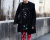 Red pants Menswear PFW AW15 Street Style by Ylenia Cuellar