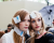 Julia Hafstrom and Hedvig Palm at Giambattista Valli AW15 Backstage PFW Ambitious Looks