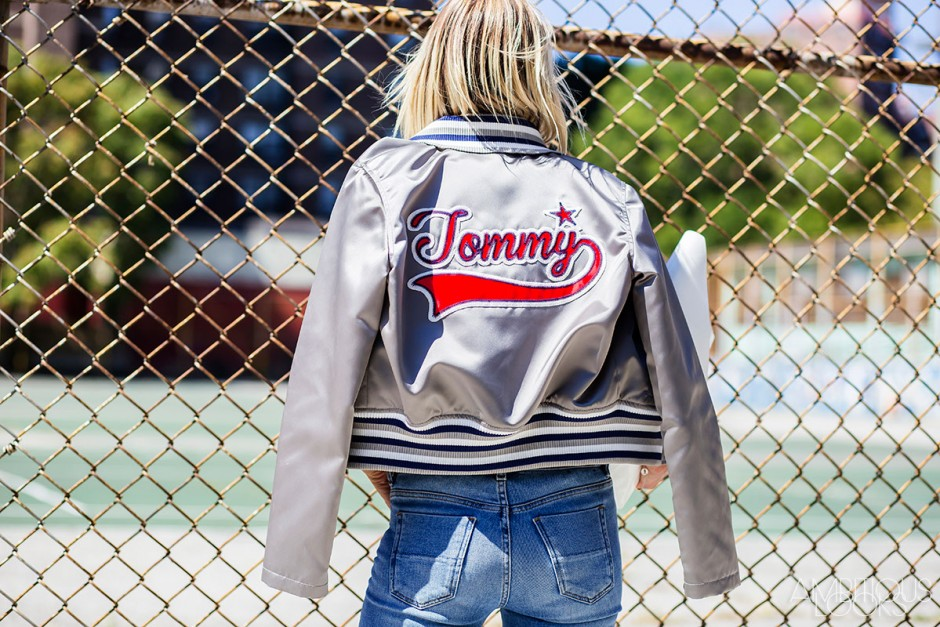 Street Style Celine Aagaard at Tommy Hilfiger NYFW SS16